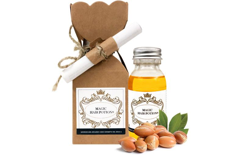 Moroccan Argana Hair Growth Oil with New Eco Friendly Wide Bottle